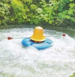 Máy sục khí khuấy nước tạo sóng