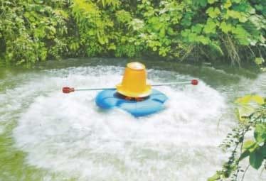 Máy sục khí nước tạo sóng